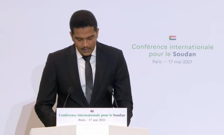 صورة السودان: ظهور لافت للأصم في مؤتمر باريس