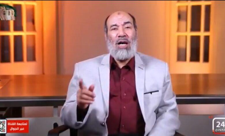 صورة د. ناجح ابراهيم: داعش كانت أكثر غلواً في التكفير والتفجير