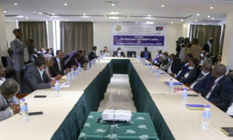 صورة السودان: عاجل .. رفع جلسات مفاوضات السلام في جوبا