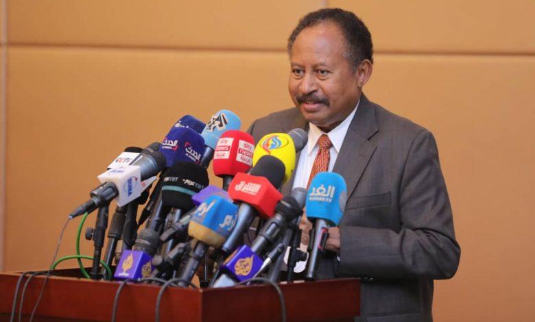 صورة السودان: عاجل .. بالأسماء .. حمدوك يعفي ويعين ولاة ولايات