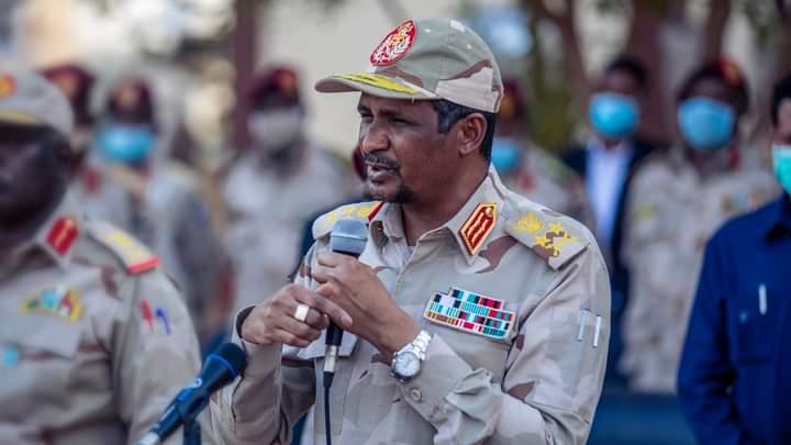 صورة السودان: حميدتي يكشف حقيقة الخلاف بين الجيش والدعم السريع