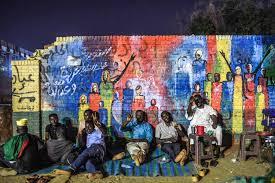 صورة السودان: جدارية لأحد فناني ثورة ديسمبر تلفت الأنظار