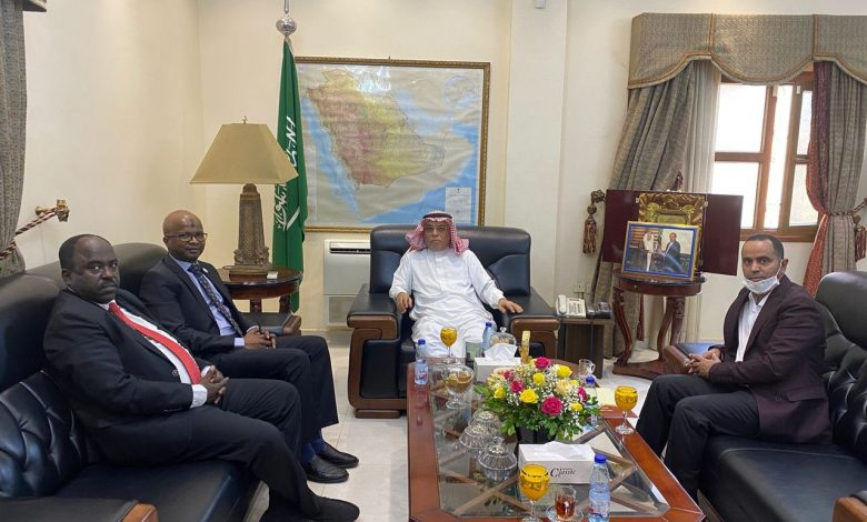 صورة السودان: لقاء مهم للسفير السعودي