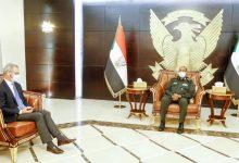 صورة السودان: رئيس مجلس السيادة يلتقي المبعوث النرويجي