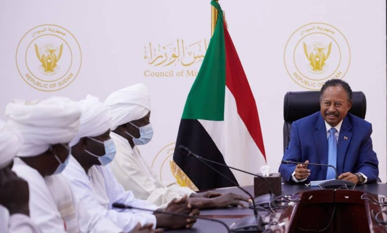 صورة السودان: تعهدات جديدة لحمدوك