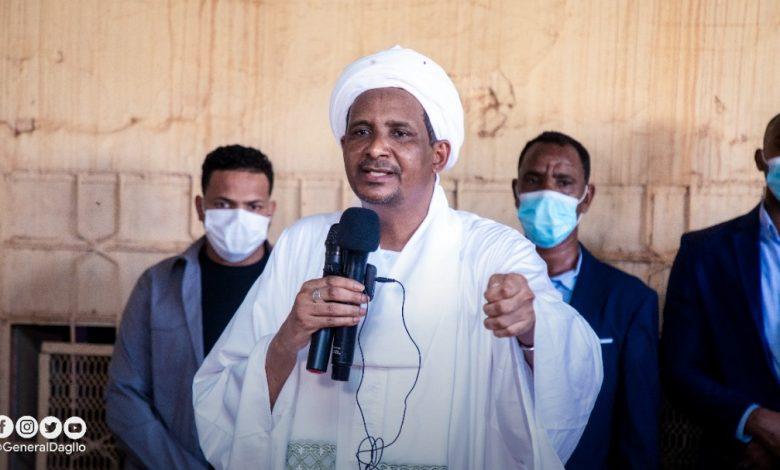 صورة السودان: دقلو .. رسائل ساخنة تجاه المكون المدني