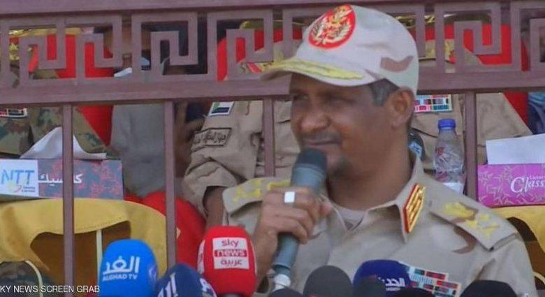 صورة السودان: حميدتي يكشف تفاصيل جديدة عن محاولة الإنقلاب الفاشلة