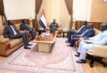 صورة السودان: تعرف على تفاصيل لقاء كباشي بوفد دولة الجنوب