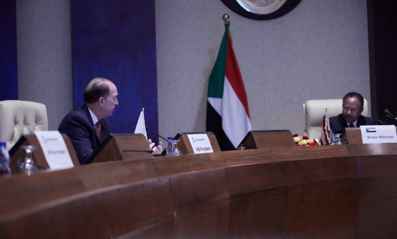 صورة السودان: التفاصيل الكاملة لجلسة مباحثات الحكومة والبنك الدولي