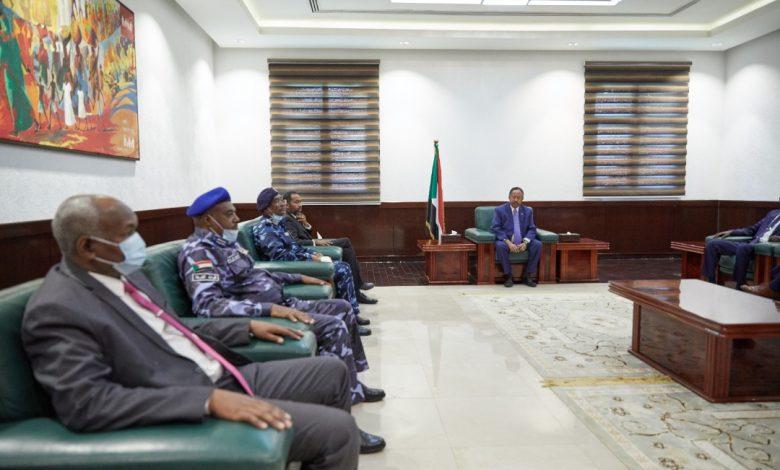 صورة السودان: حمدوك يقف على الوضع الأمني بالبلاد
