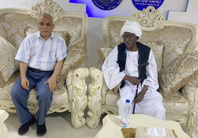 صورة السودان: السفير السعودي يزور الشرق