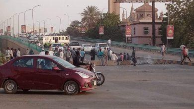 صورة السودان: انتشار عسكري في الخرطوم وإغلاق عدد من الكباري
